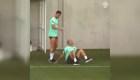 Cristiano Ronaldo le hace una broma divertida a Pepe