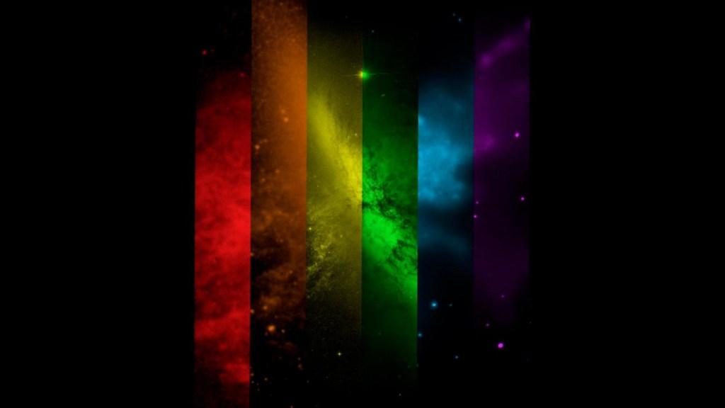 Celebran la diversidad sexual con esta imagen espacial