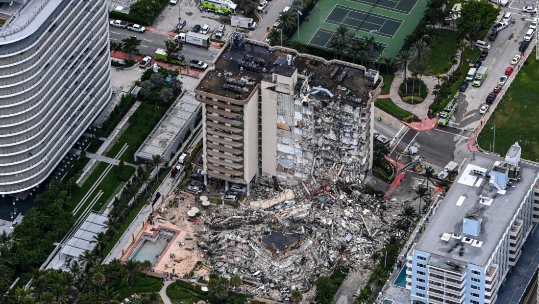 Arquitecto descarta colapso en otros edificios de Miami