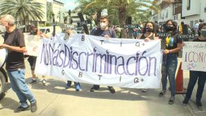 """""""Nos están matando"""", dicen manifestantes LGBTQ+ venezolanos"""