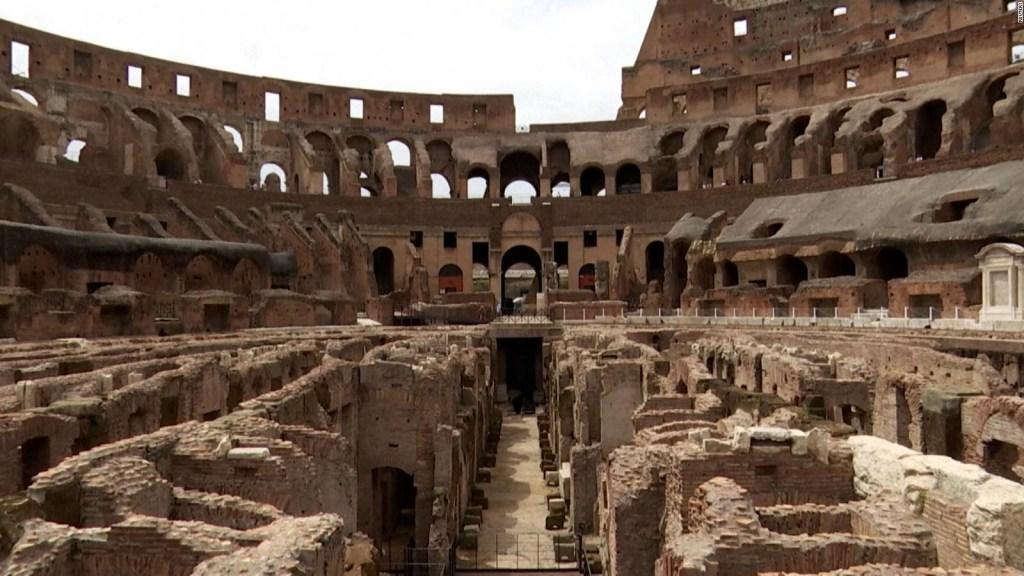 Así se renueva el Coliseo de Roma