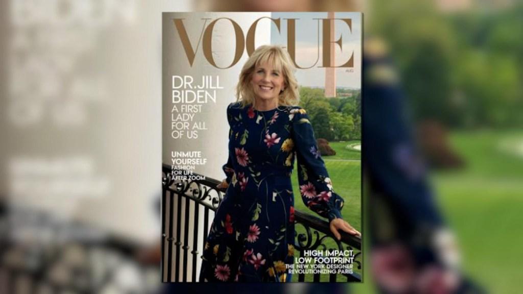 Jill Biden is the cover of Vogue magazine