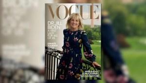 Jill Biden es la portada de la revista Vogue