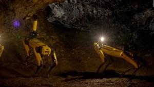 Este robot parece un perro y podría explorar Marte
