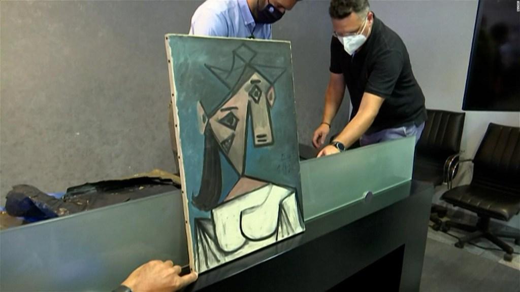 Cuadro de Picasso es recuperado en Grecia