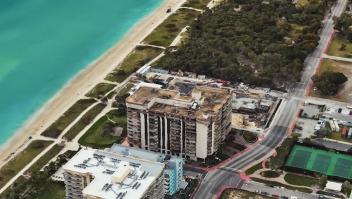Imágenes que podrían demostrar daños edificio de Miami
