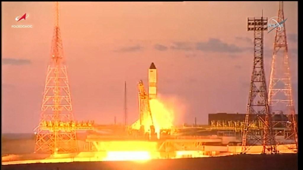 La Russia lancia un veicolo spaziale sulla Stazione Spaziale Internazionale