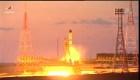 Rusia lanza nave a la Estación Espacial Internacional