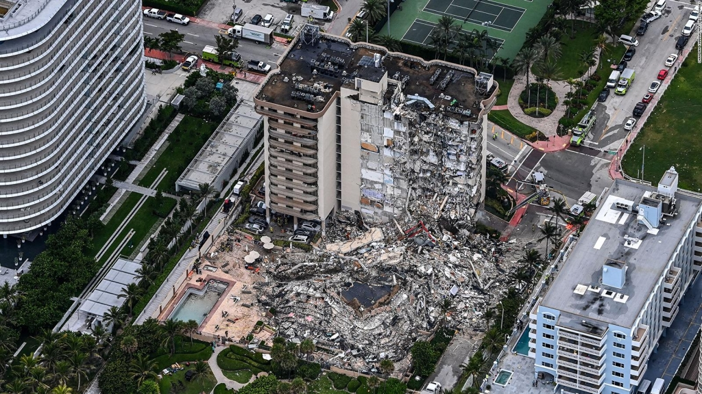 The 3 possible causes of collapse in Miami, according to company