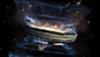 """Los agujeros negros supermasivos generarían """"tsunamis"""""""