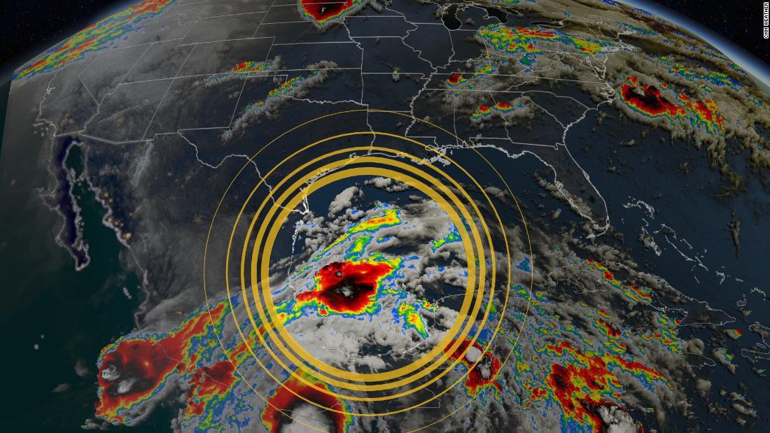 La próxima semana podría tocar tierra en Estados Unidos la primera tormenta tropical de la temporada