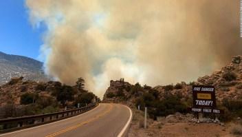 sequía incendios