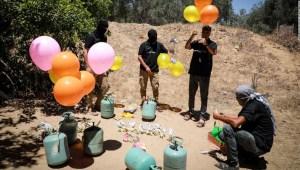 globos Gaza Israel
