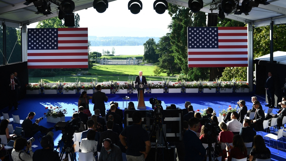 Conferencia de Biden tras cumbre con Putin