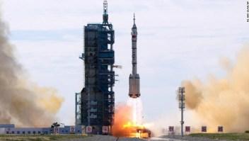 China astronautas estación espacial
