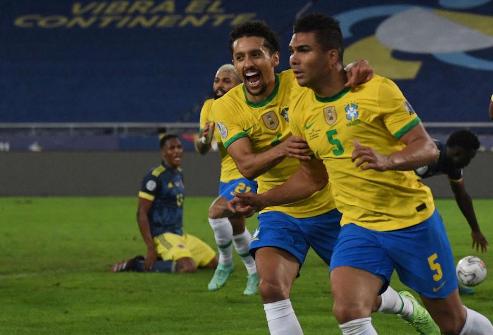Copa América Brasil Colombia