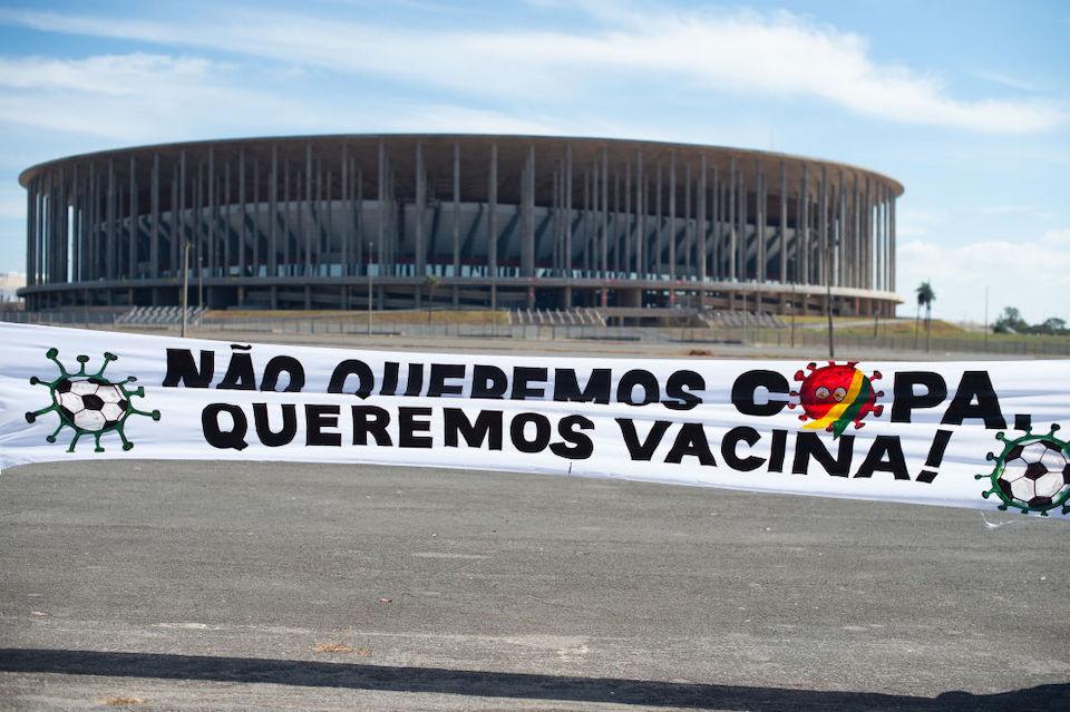 Brasil informa 31 casos de covid-19 en participantes de Copa América