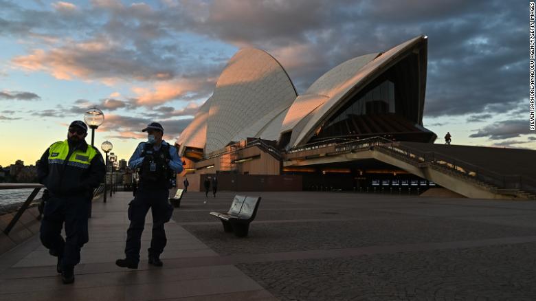Sydney Australia covid-19