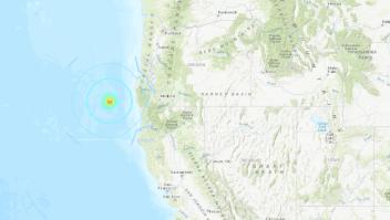 sismo Oregon