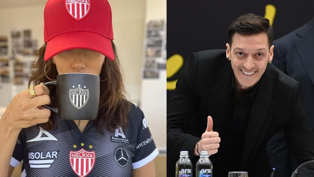 Eva Longoria Mesut Özil