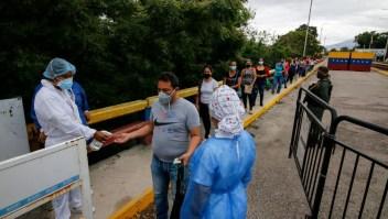Horarios ingreso salida frontera Colombia Venezuela