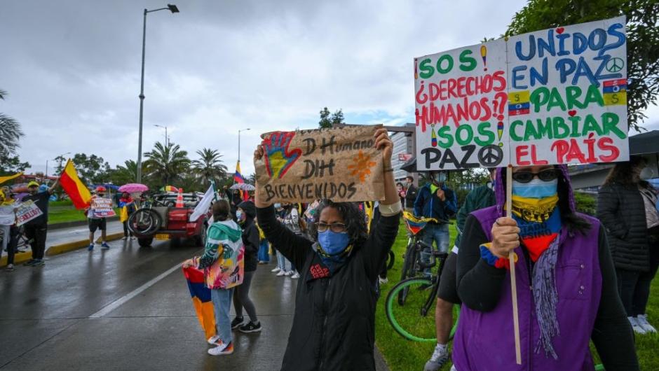 CIDH visita oficial Colombia protestas
