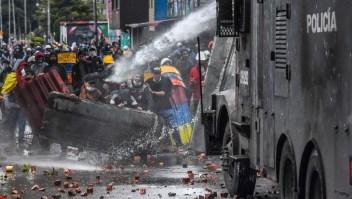 Colombia protestas Bogotá
