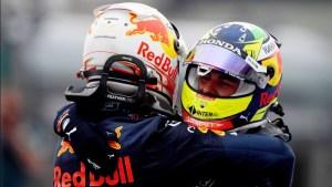 Checo Pérez Verstappen
