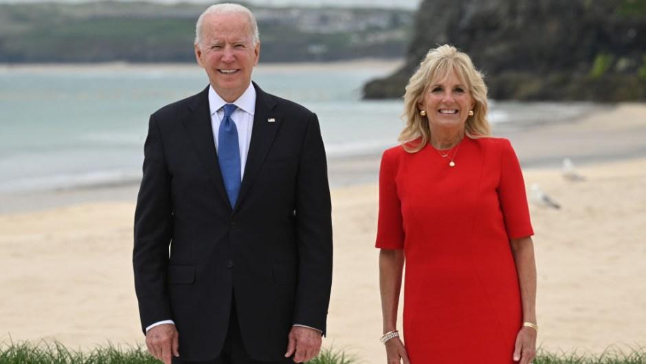 Joe y Jill Biden G7