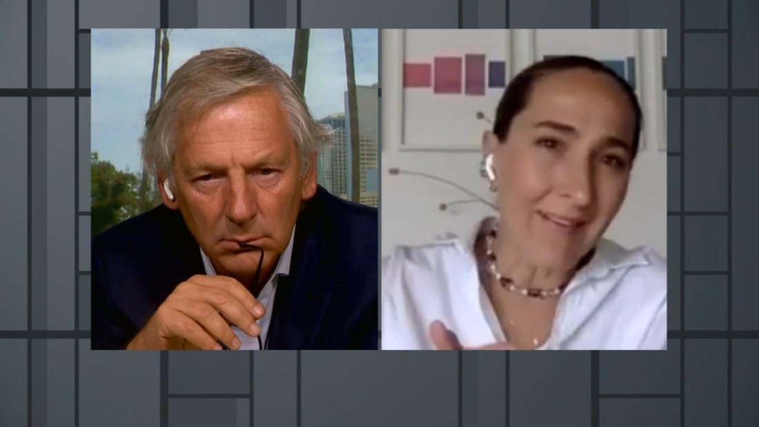 La chef mexicana Gabriela Cámara conversa con Marcelo Longobardi