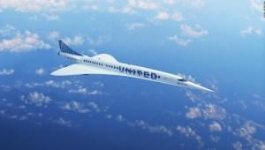 United Airlines acuerda comprar 15 aviones supersónicos.