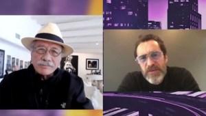 Edward James Olmos y Demian Bichir hablan de los retos que viven los actores latinos en Hollywood