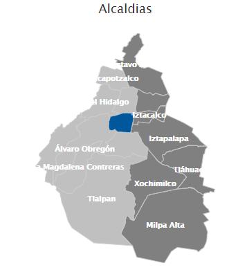 Alcaldías Ciudad de México 2021