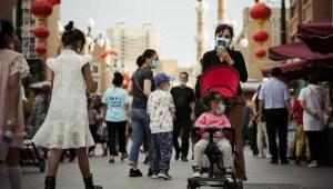China natalidad Xinjiang