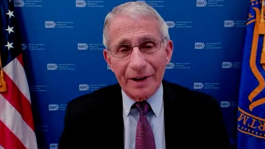 El Dr. Anthony Fauci dice que el email publicado sobre la fuga de laboratorio se está malinterpretando