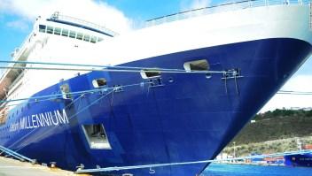 Crucero Norteamérica Pasajeros turismo