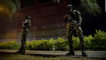 Colombia militarización protestas