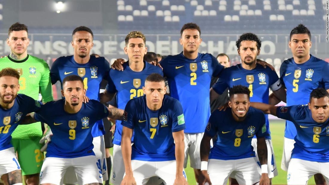 Selección brasileña critica la organización de la Copa América en una carta pública