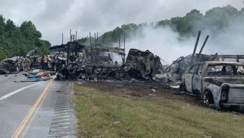 Testigo accidente tráfico Alabama