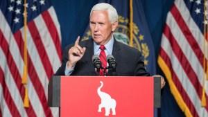 Mike Pence contradice a Trump sobre el 6 de enero y califica el plan para descertificar las elecciones de 2020 como 'antiestadounidense'