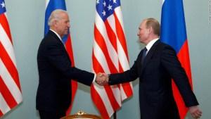 Biden experiencia líderes rusos Putin