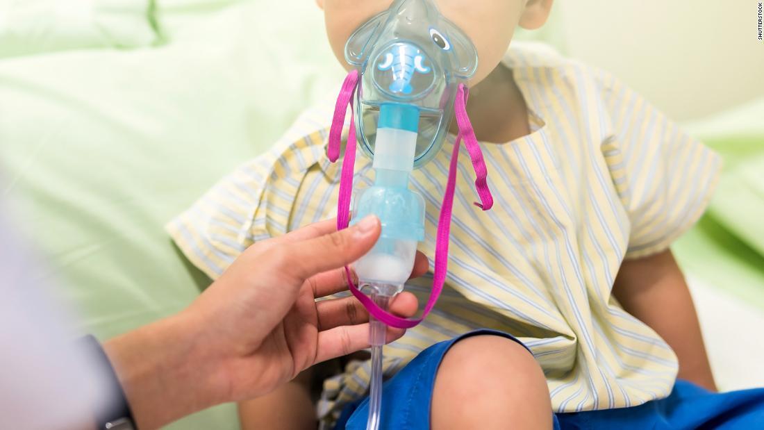 niño problema respiratorio