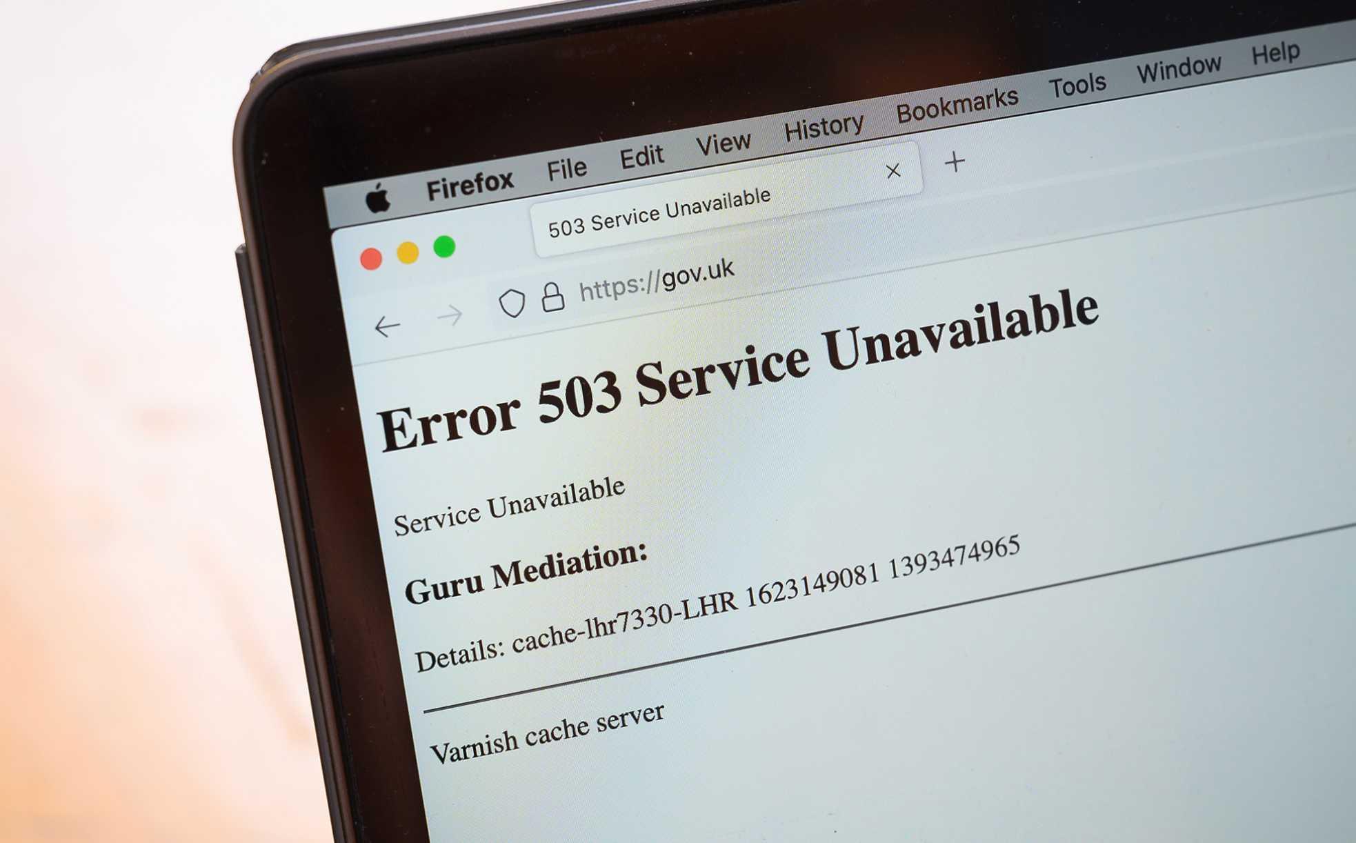 Minuto a minuto: gran apagón de internet afecta sitios web y las  aplicaciones de todo el mundo | CNN