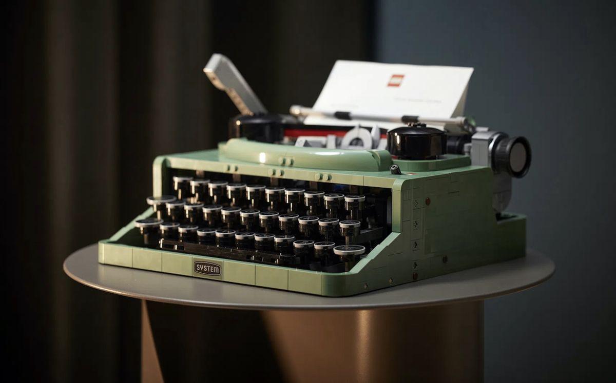 Lego maquina de escribir