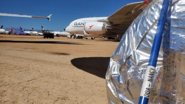 Qantas ahuyenta serpientes de sus aviones