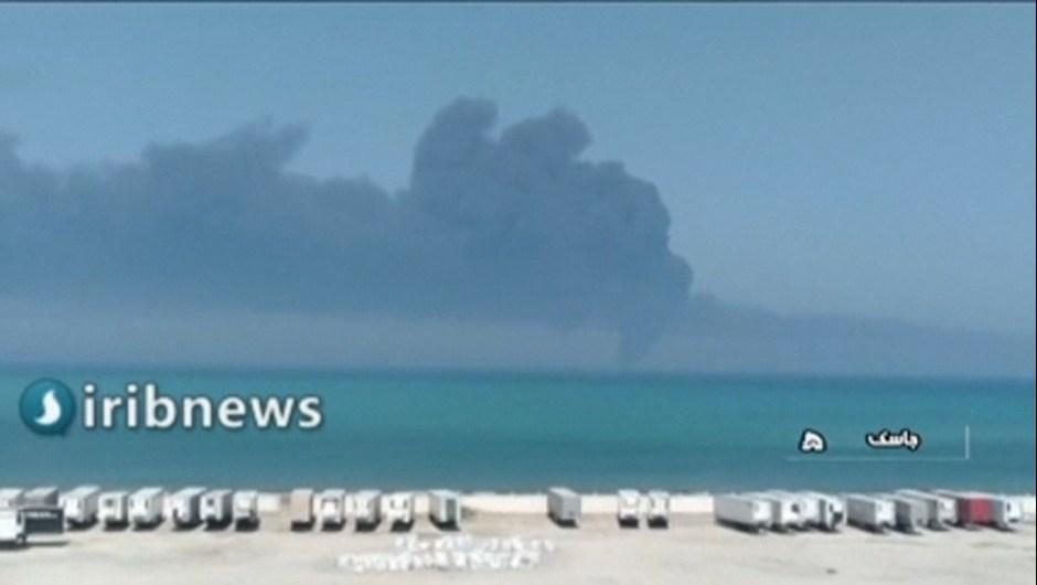 Hundimiento barco de Irán