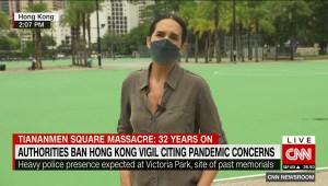 Masacre en Tiananmén: Hong Kong prohíbe movilizaciones por las restricciones de la pandemia