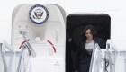 """El avión en el que iba Kamala Harris regresa a la Base Andrews por un """"problema técnico"""" en su trayecto hacia Guatemala"""