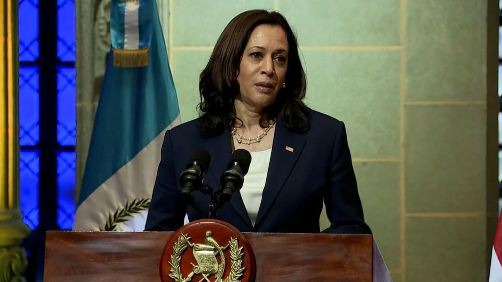 Harris: Vamos a desalentar la inmigración ilegal