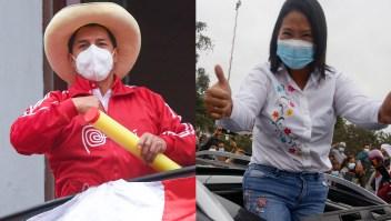 Elecciones en Perú: Castillo aventaja a Fujimori